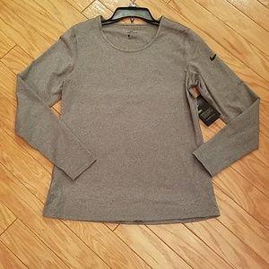 NWT Nike dri-fit long sleeve shirt